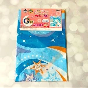 BNIP Sailor Uranus Neptune Pluto Handkerchief
